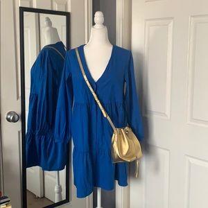 NEW LISTING! H&M cobalt blue cotton dress